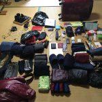 留学の荷物公開