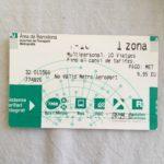 【バルセロナ空港から市内まで】空港で10回券(T-10)購入→Renfeが最安値
