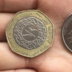 コインの数字がアラビア語!ヨルダンの硬貨はややこしい