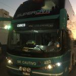 【18時間移動】イカからクスコまで夜行バス(SuperCiva)で移動