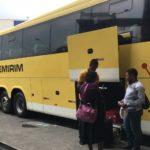 リオデジャネイロからサンパウロへバスで移動。予約はしない方がいい